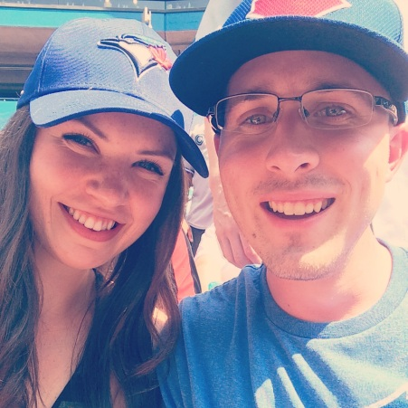 At Blue Jays Game