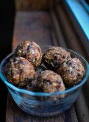 Oatmeal Prune Balls