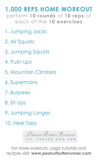 PBR 1000 reps workout
