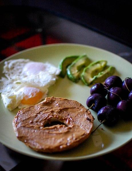sun butter breakfast plate