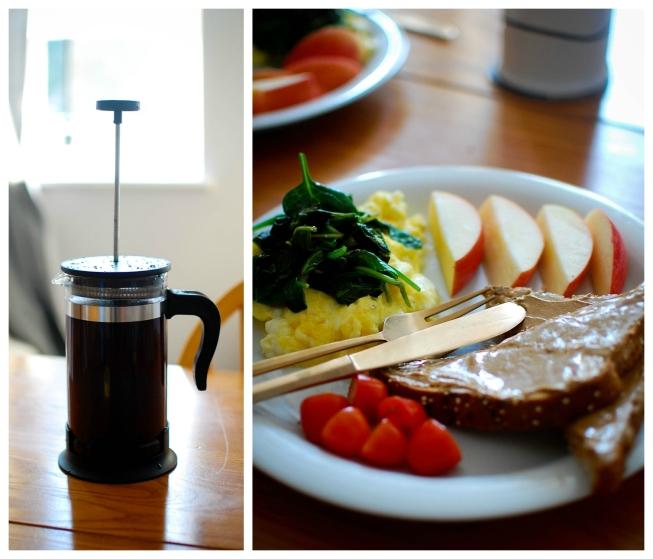 breakfast at Josh's