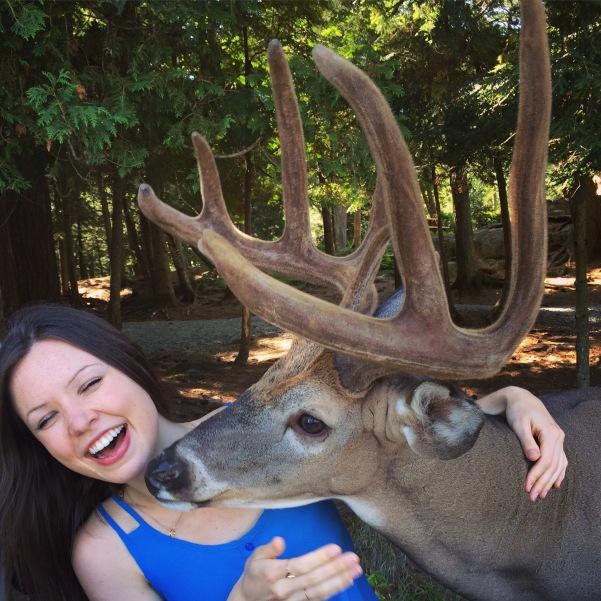 Deer Kissing Me
