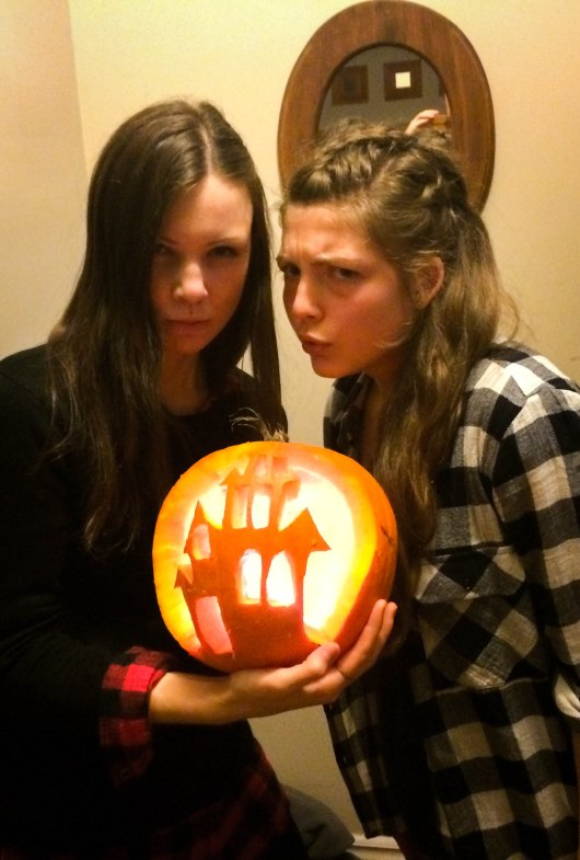 Marie-Maude and I and Pumpkin