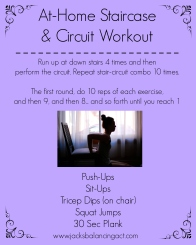 Staircase & Circuit Workout