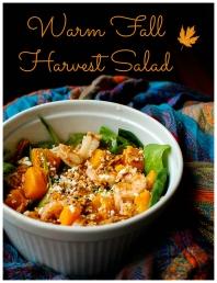 Warm Fall Harvest Salad
