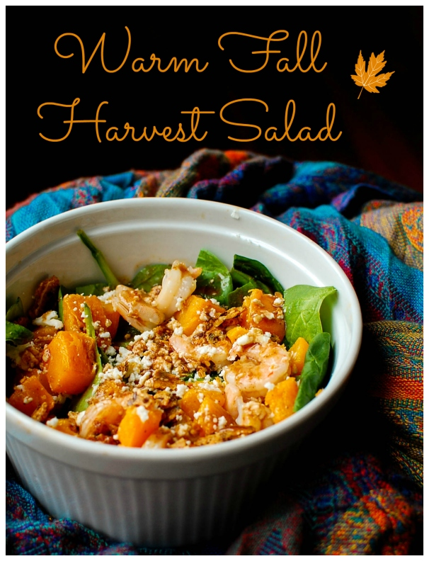 Warm Fall Harvest Salad