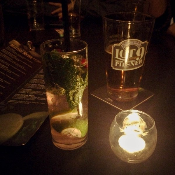 Cocktail and Beer