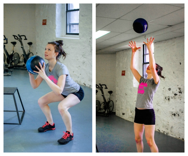 Squat and Toss
