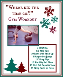 Workout Graphic